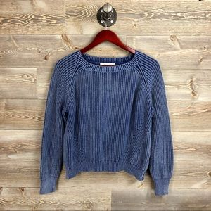 Philosophy Ribbed Chunky Sweater